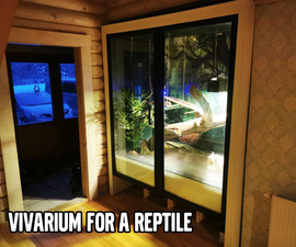 Vivarium for a Reptile