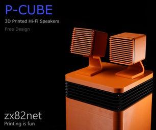 P-CUBE扬声器系统