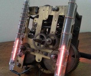 Nixie Bargraph Clock