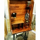 Sewing Machine Powered Coffee Bar