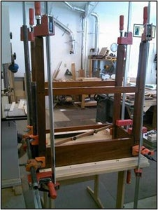 Gluing the Center Section