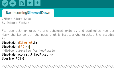 Upload the Arduino With the Code