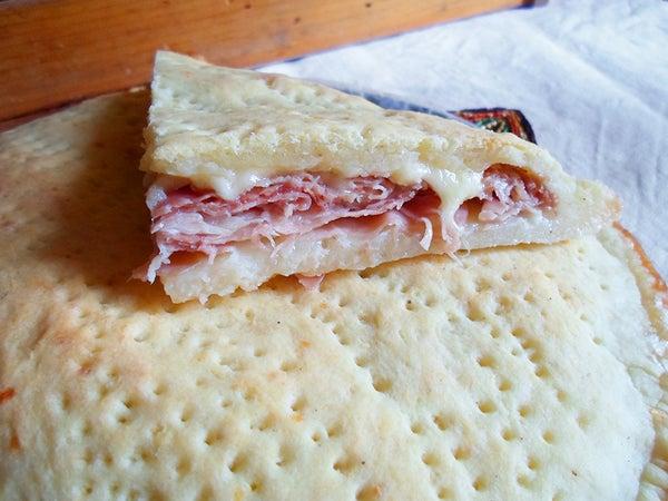 Ricotta Cheese Focaccia Pie