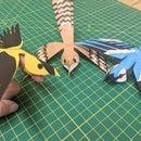 Bird Finger Puppet