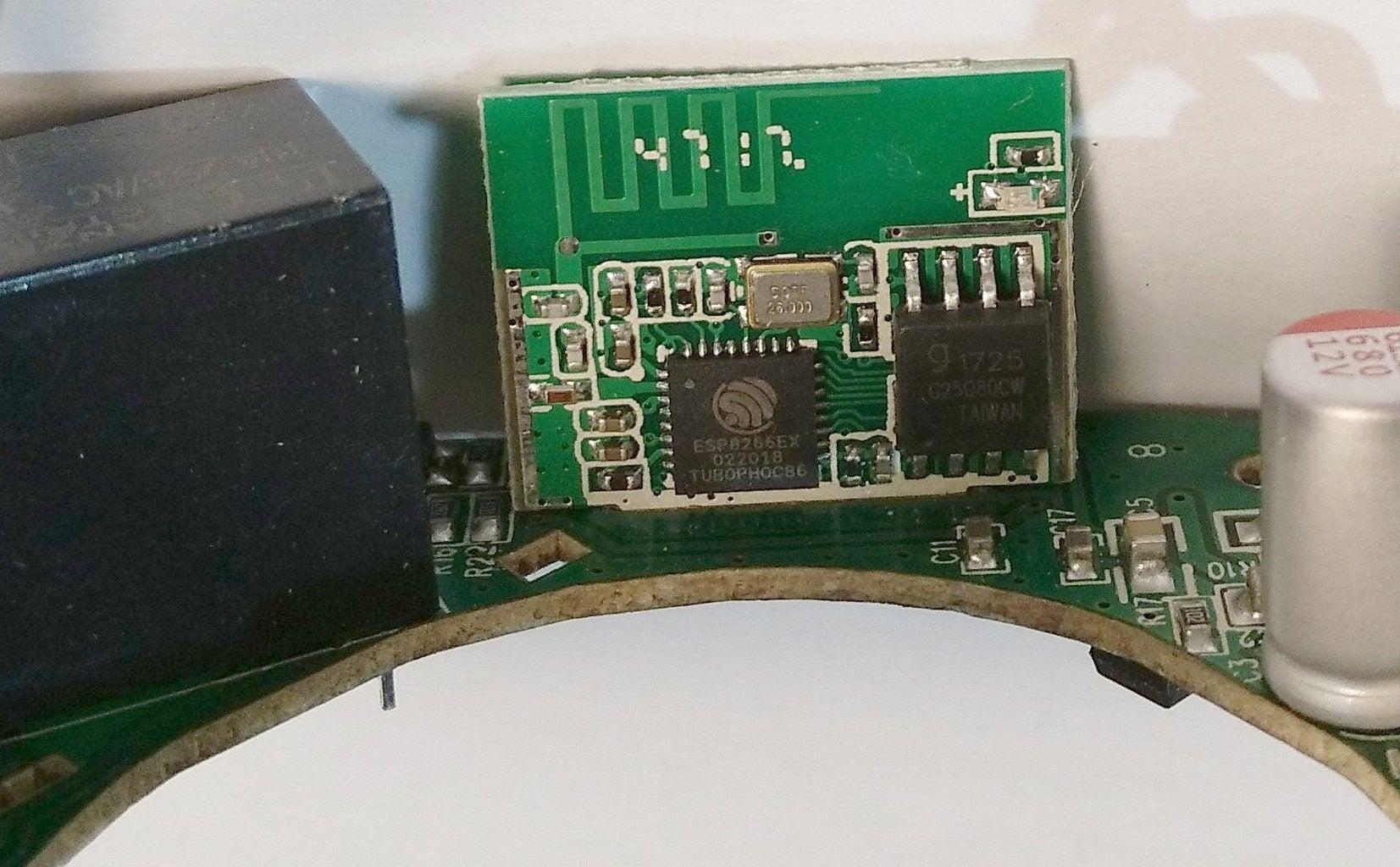 Accessing the Esp8266ex Module