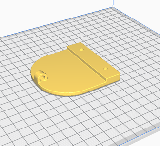 3D Print the Handle Plate and Foot Pedal Parts