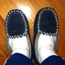 Extend the life of your old moccasins.