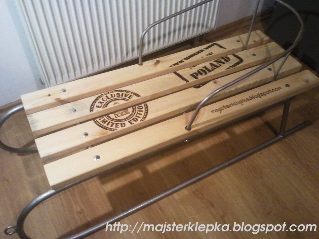 Old restored sledge