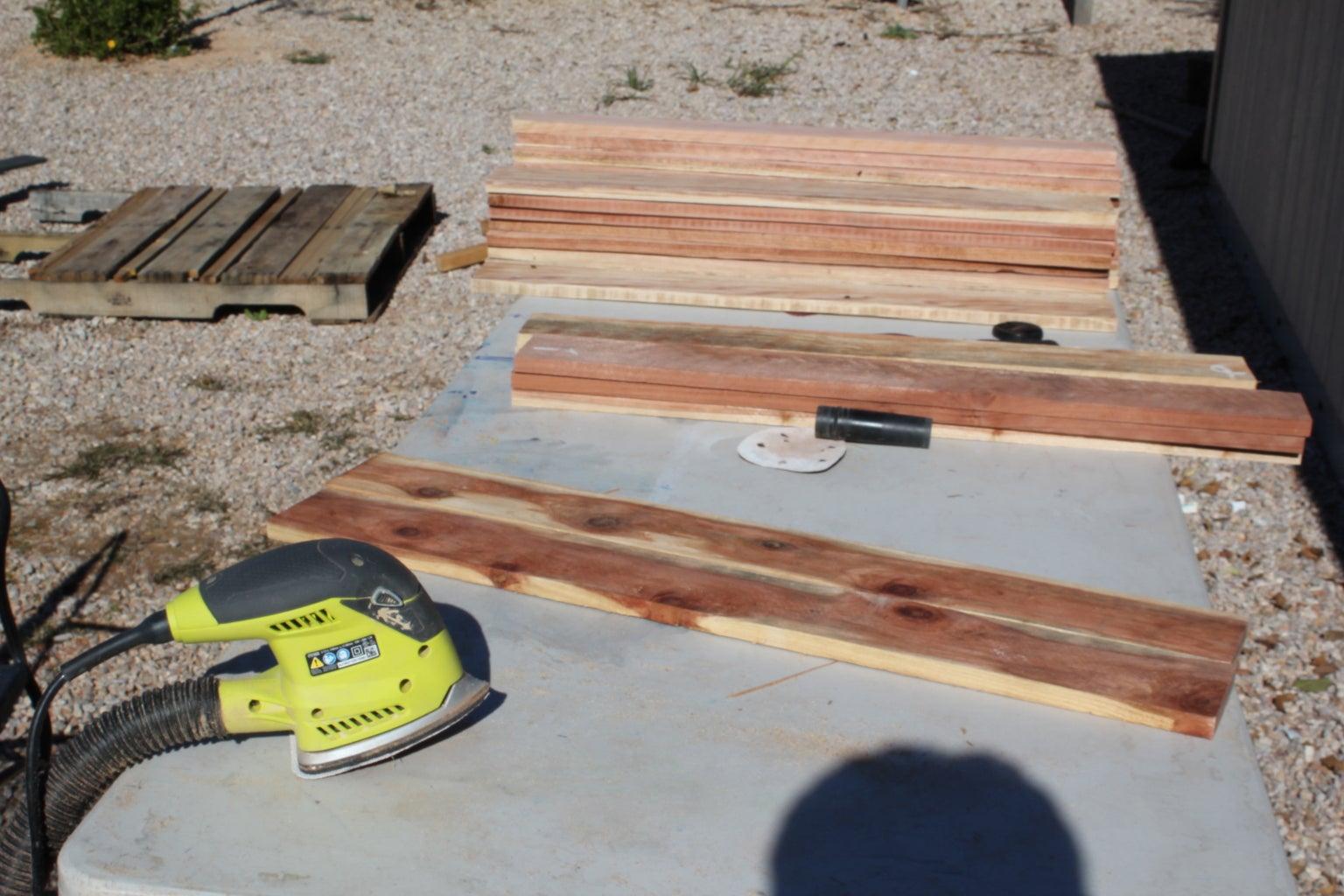 The Sanding Process