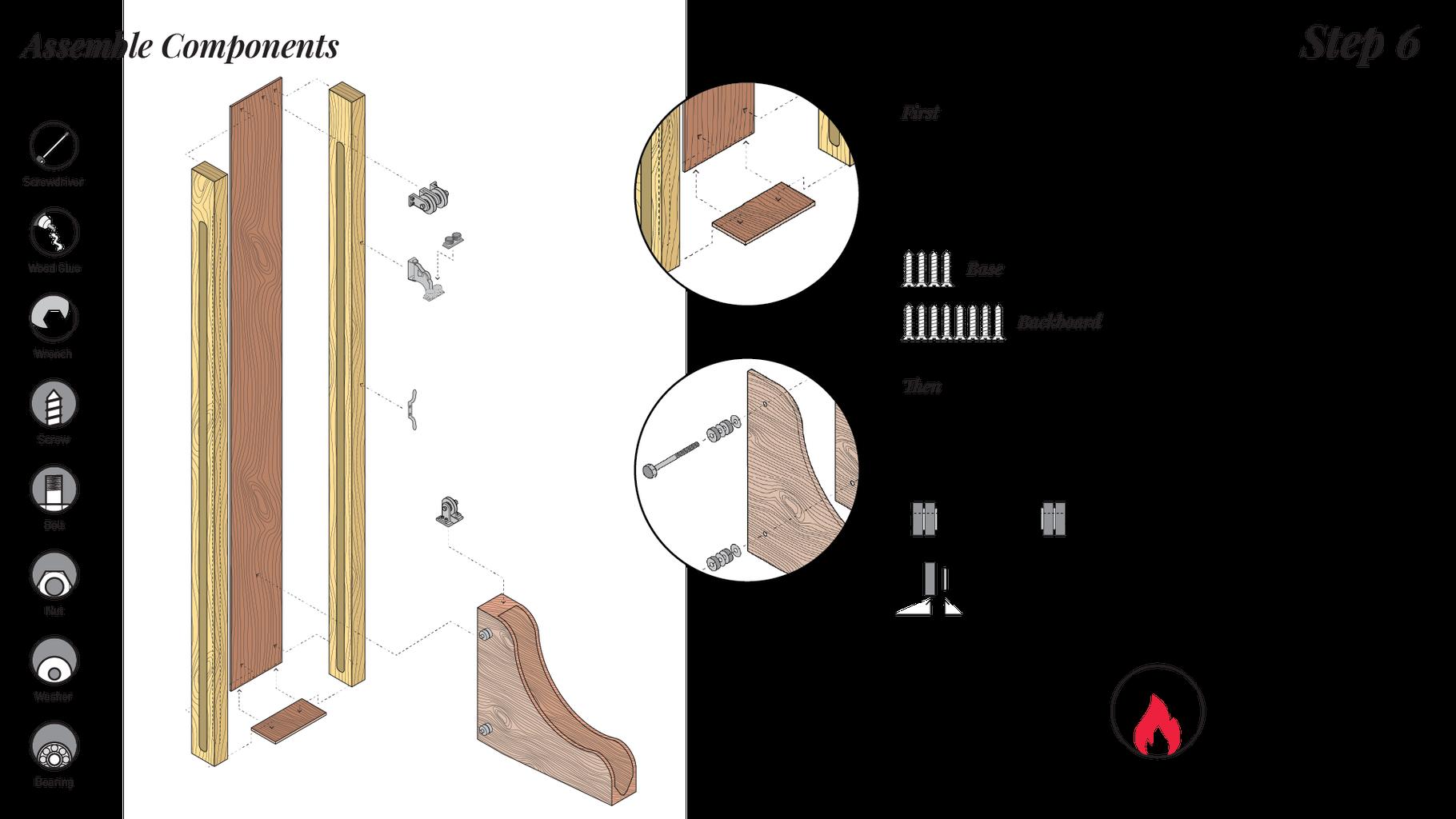 Assemble Components