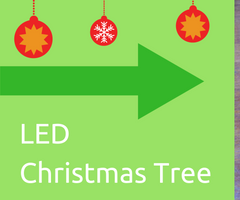 DIY LED Christmas Tree