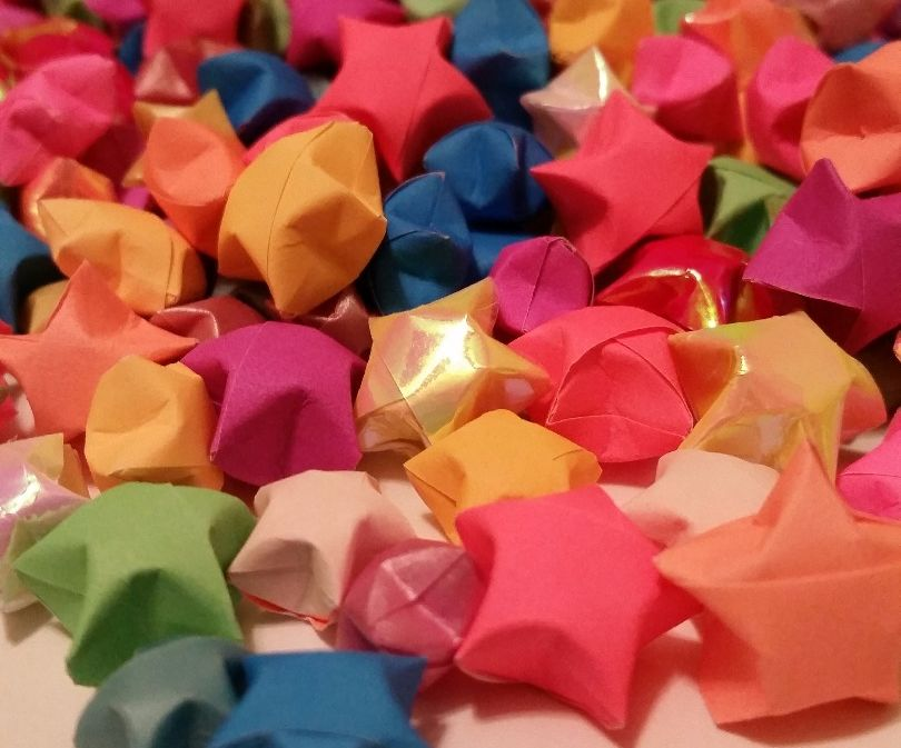 How to Make Origami Paper Stars