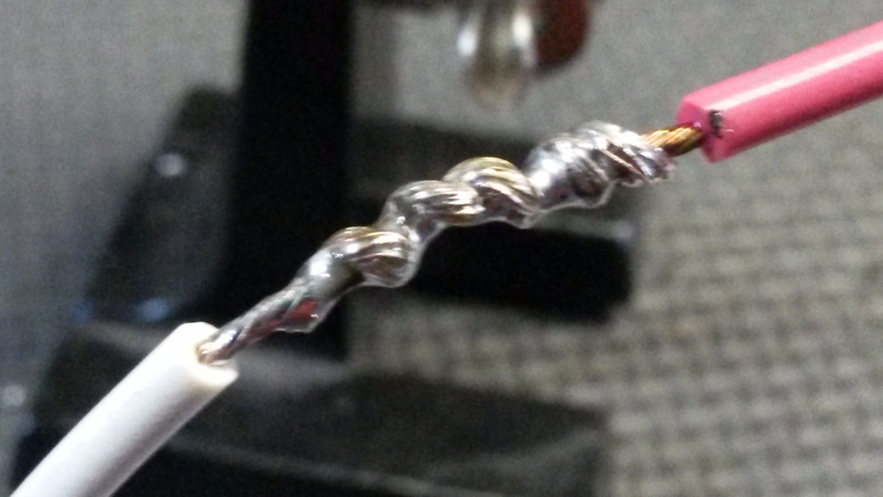 Soldering the Joint