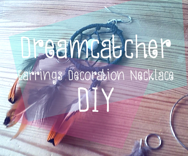 Dreamcatcher  Earrings Decoration Necklace DIY