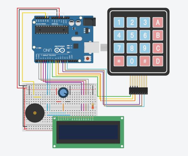 DIY Arduino LCD-Keypad Maths Game