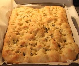 易于自制的Focaccia面包