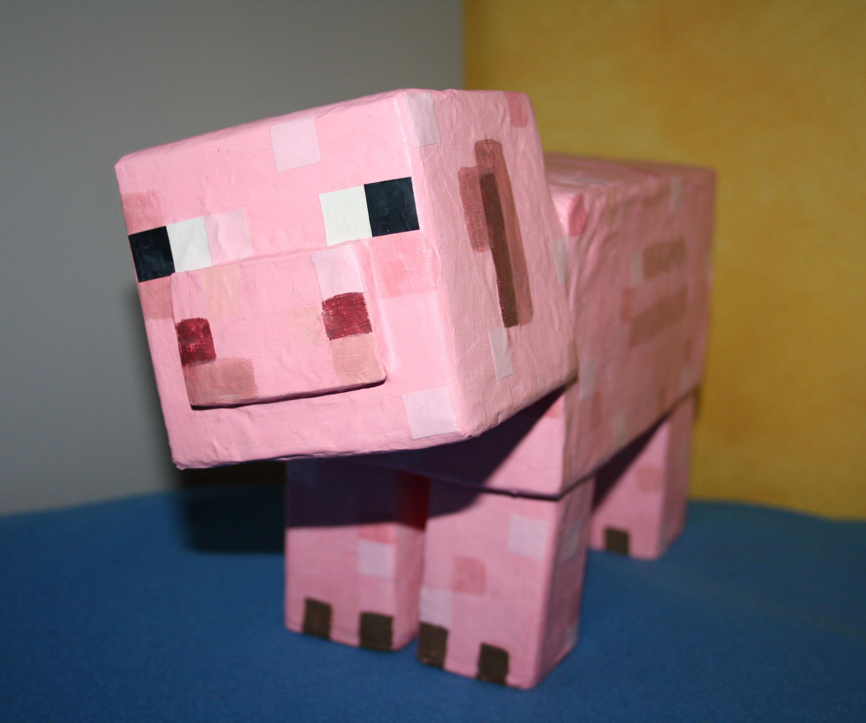Minecrafft Piggy Bank