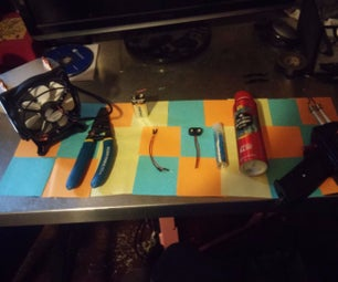 Turn an Old CPU Cooler Into a New Soldering Fan