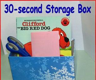 30-Second Storage Box –Tissue Box Hack