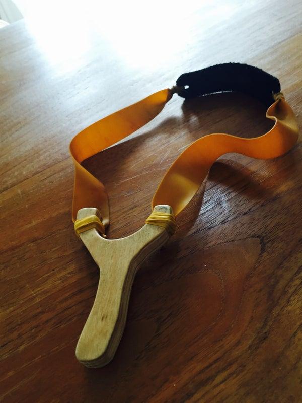 Powerful Plywood Slingshot
