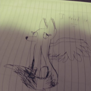How to Draw a Winged Fox