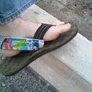 Caprisun Pouch Heelstraps For Sandals
