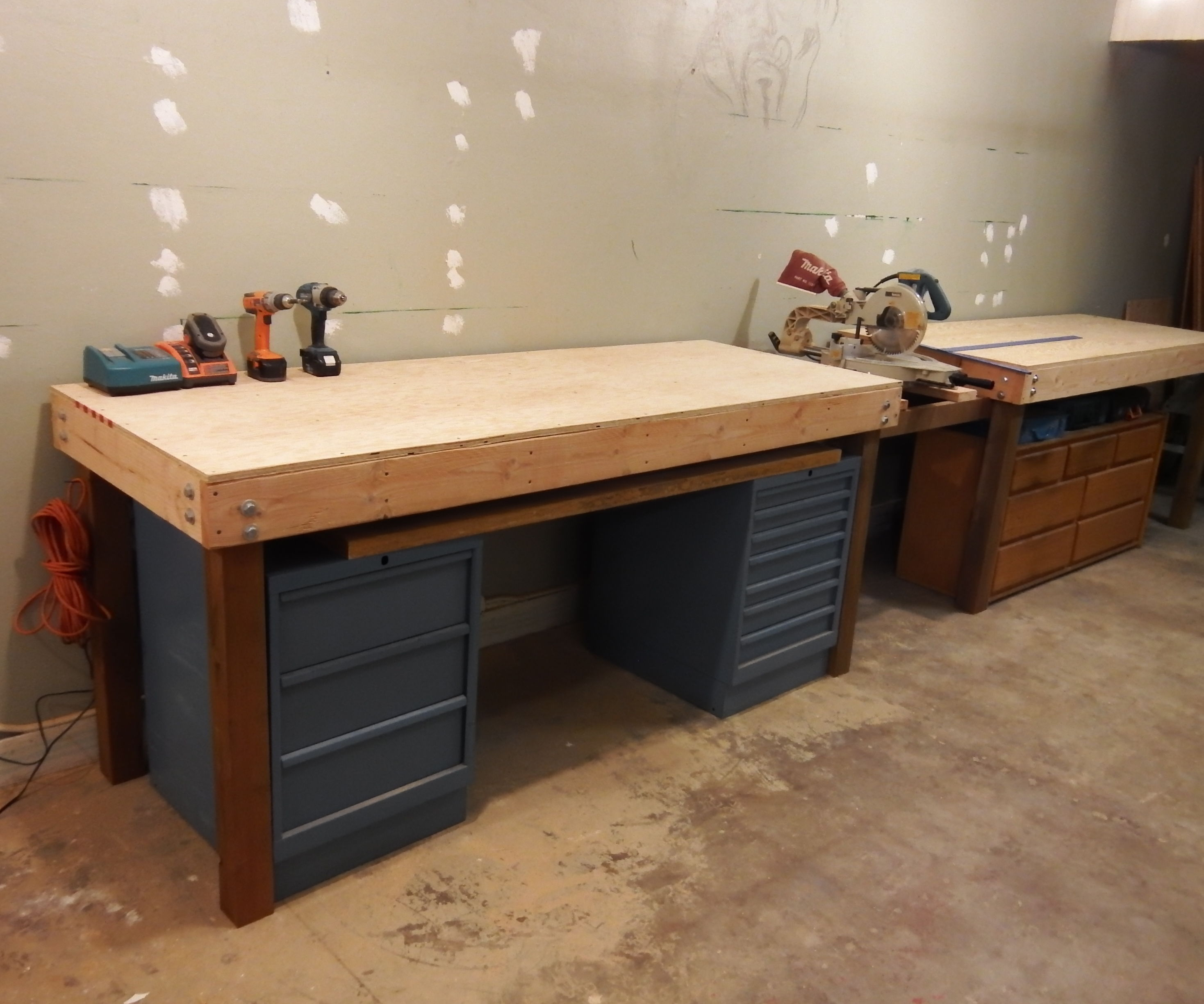 Saw Workbench Area Retrofit
