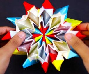 Fireworks Origami - Happy New Year (Yami Yamauchi)