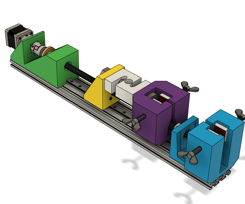 FULLY FUNCTIONAL Tensile Testing Machine: Tinkercad Contest Version