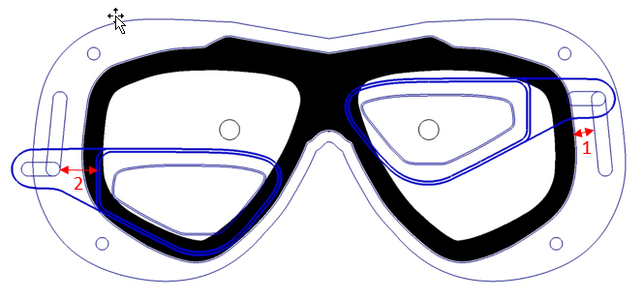 The Add-on Outer Frame for the Mask