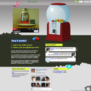 Twitter enabled candy machine