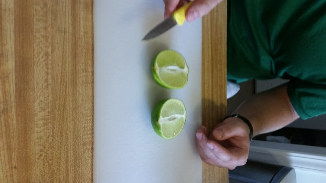 Slice a Lime to Make It Fancy (optional)