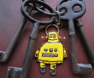 An Introduction to P-R-P. 'Poor Man's Rapid Prototyping'. Let's Build an IRobot Keyring.