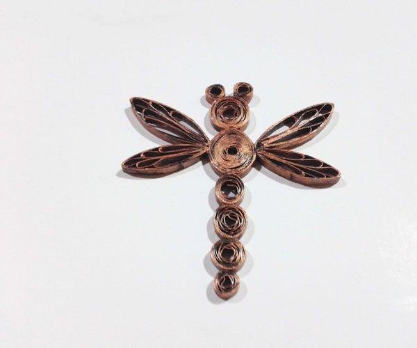 Bronze Dragonfly