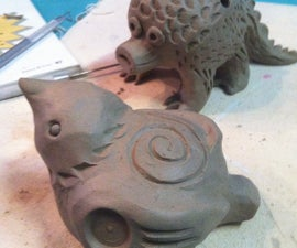 Bear Whistles! Bird Whistles! How to Build Sculptures That Sing.