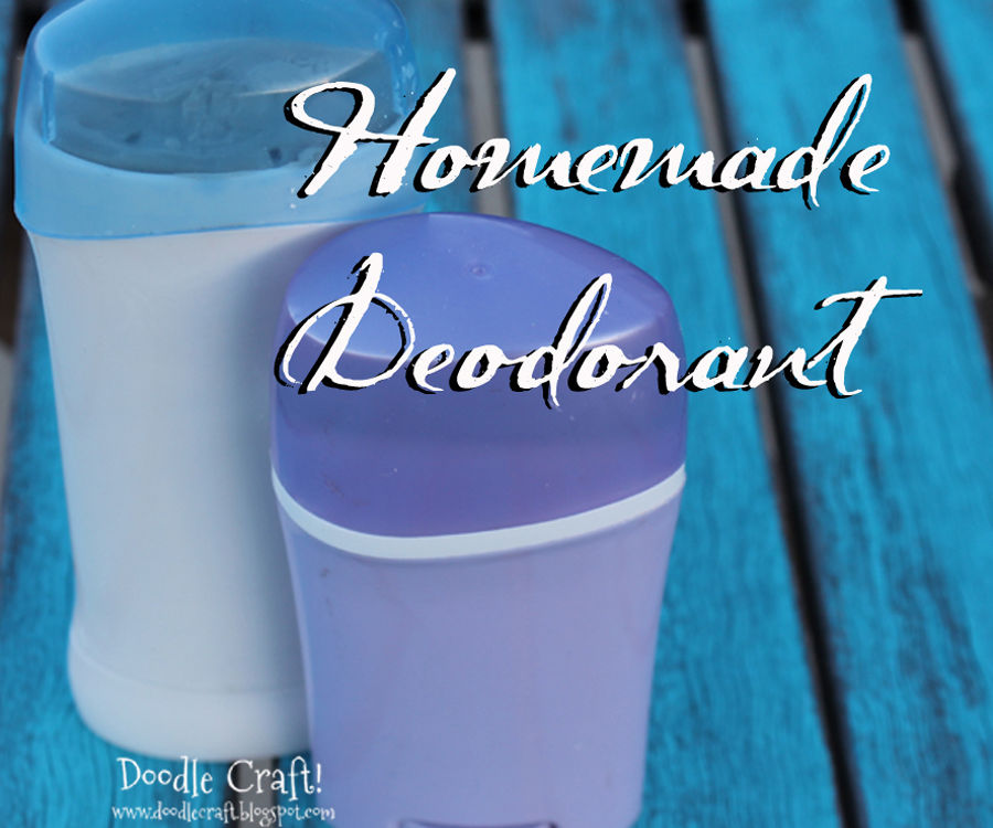 Homemade Deodorant!