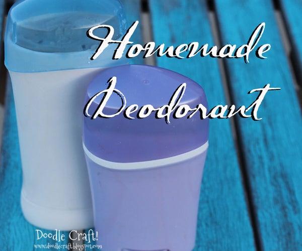 Homemade Deodorant!