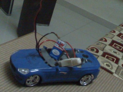 The Remote Car That Can Go Enywhere