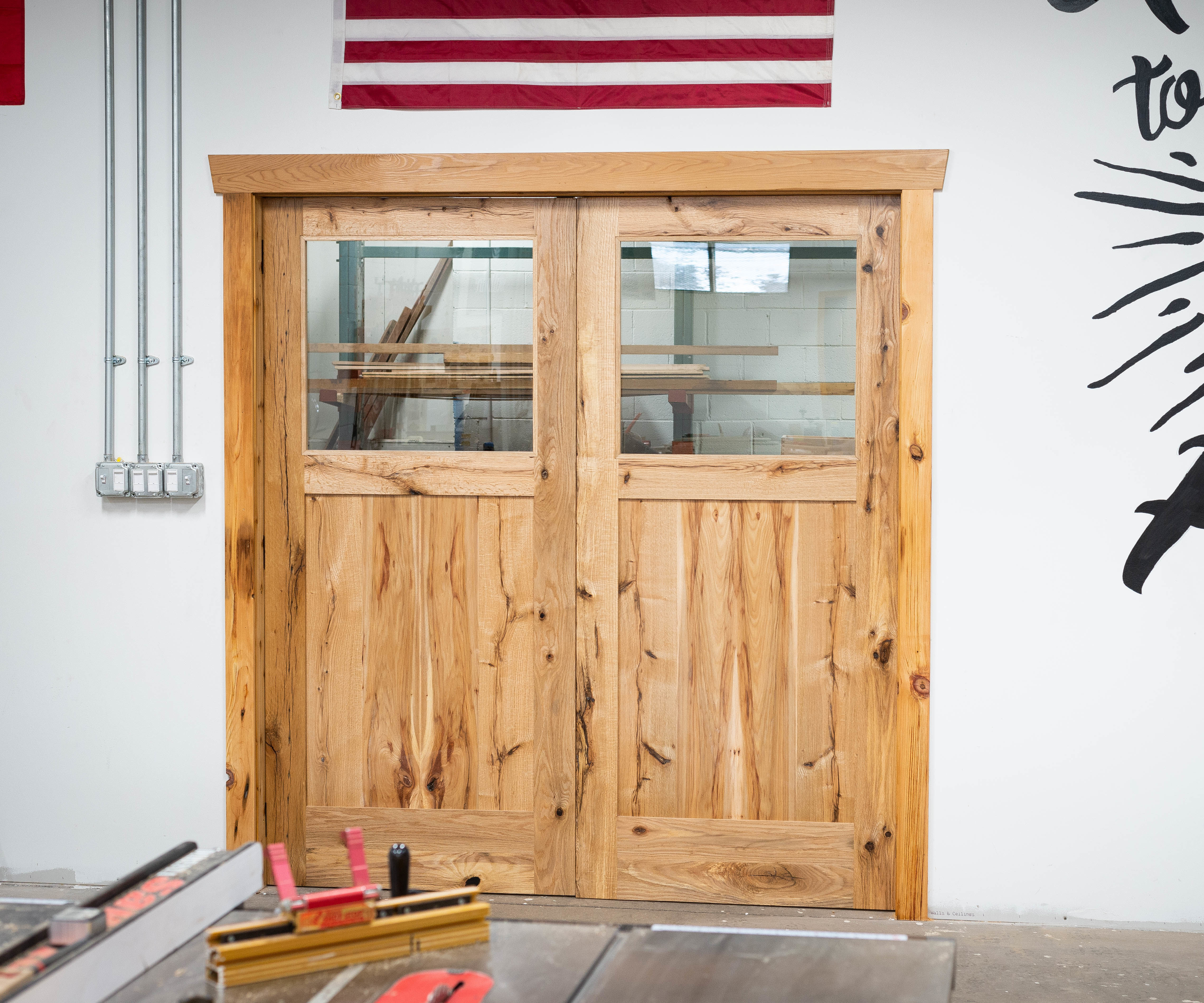 Building Frame & Panel French Doors