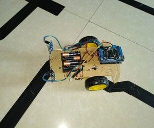 如何使用Arduino制作线路跟随机器人