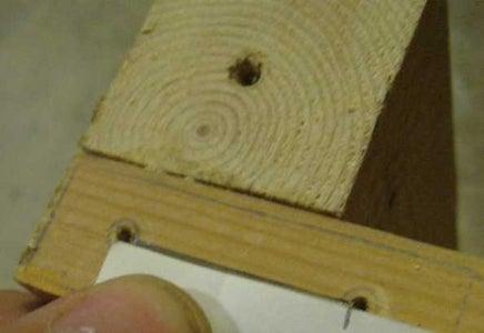 Recess the Wood
