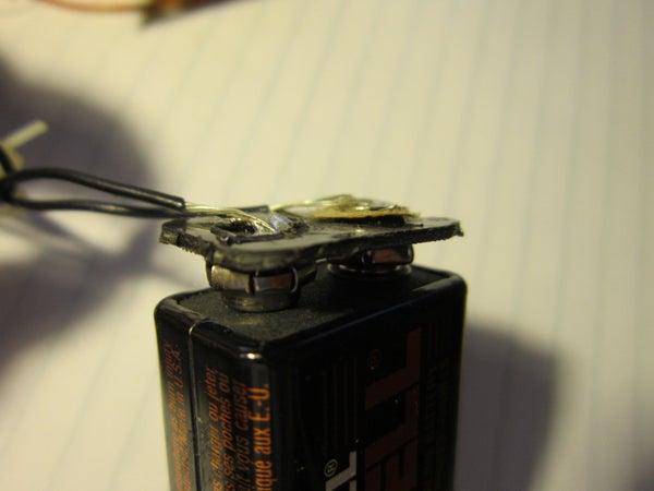Free 9 Volt Battery Clip