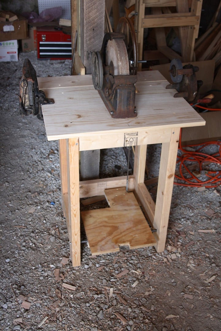 Convert a Grindstone to Treadle Power