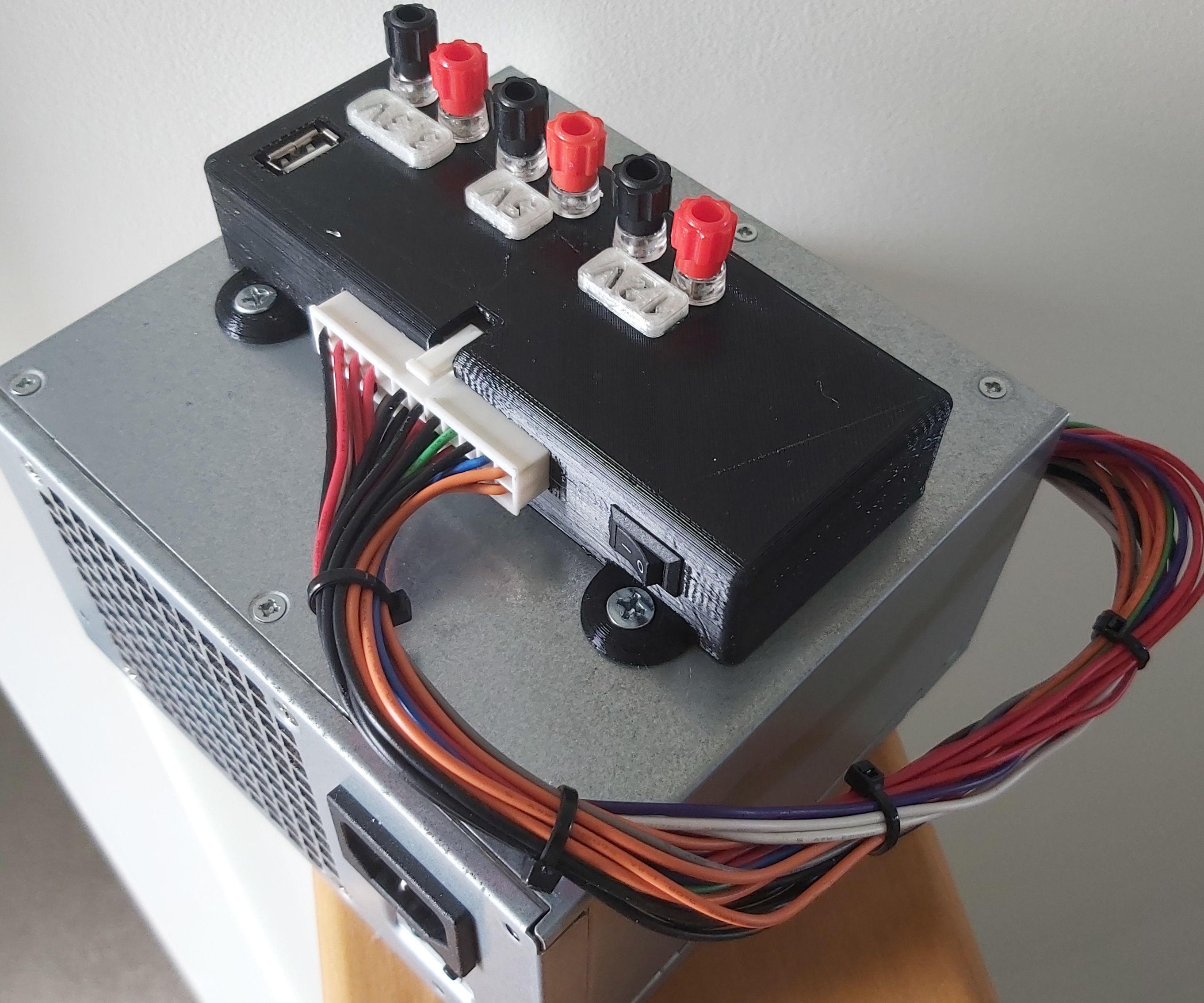 ATX Power Supply Breakout Case
