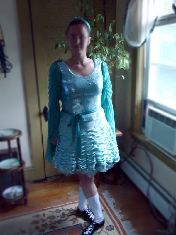 How to Make an Irish Dancing Dress in Under a Week for Less Than $100.