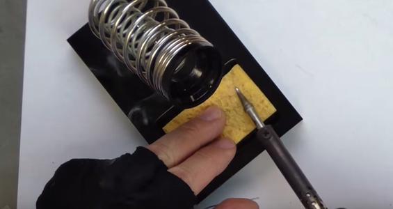 Tinning the Solder Iron Tip