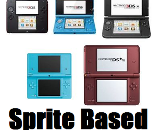 How to Make a Sprite Based Game for the 3DS and DSi Family