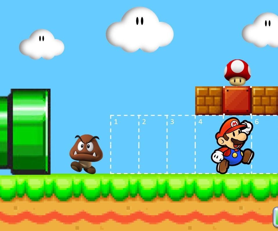 Super Mario PowerPoint Quiz Game - Games for English Teachers (ESL)