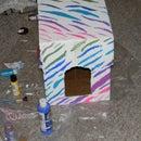 Designer covered Kitten Litter box