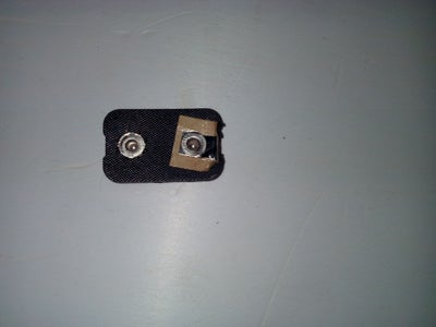 9 Volt Battery Clip From an Old Battery.